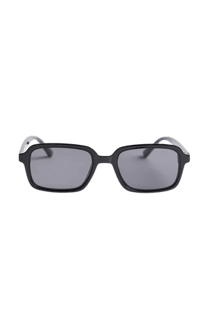 Aiko Plastic Square Sunglasses   Urban Outfitters