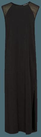 Erika Black Shift Silhouette Midi Dress – REISS