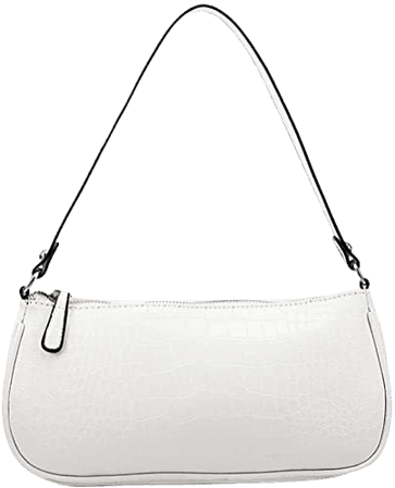 abigail paige Women Retro Classic Crocodile Snakeskin Pattern Clutch Shoulder Baguette Bag with Magnetic Closure (Crocodile 1), Medium: Handbags: Amazon.com