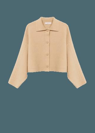 Openwork details cardigan - Women | Mango USA