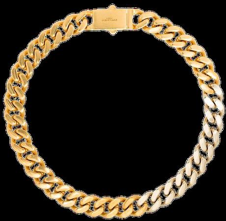 Saint Laurent two-tone Chain Necklace - Farfetch