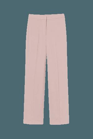 Wide-cut Pants - Light pink - Ladies | H&M US