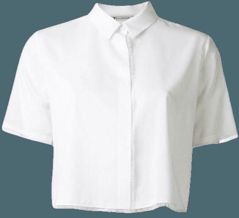 Collar Crop Top