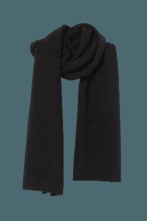Cashmere scarf - Black - Ladies | H&M GB