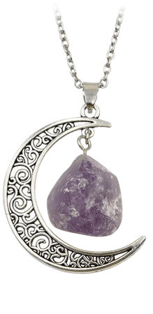 2018 New Jewelry Hot crystal Necklace Soft Gothic Garbage Witchcraft Goddess Purple Stone Necklace Wholesale-in Pendant Necklaces from Jewelry & Accessories on Aliexpress.com   Alibaba Group