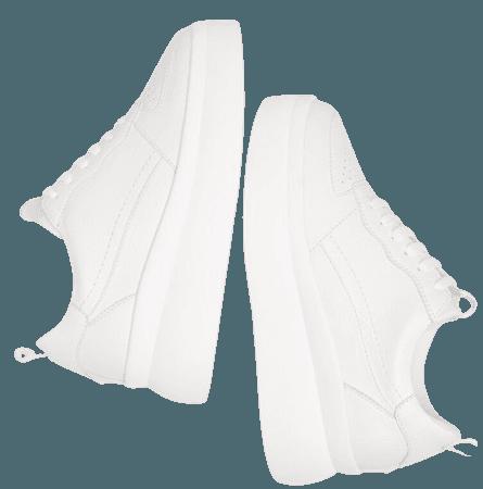 Embossed platform sneakers. - New - Bershka United States