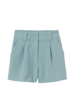 Tailored Shorts - Turquoise