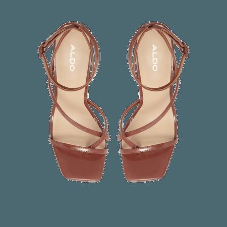 Hainiel Medium Red Women's Block heels   ALDO US