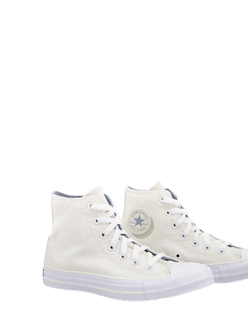 Converse Chuck Taylor All Star Hi Mono Lights sneakers in egret | ASOS