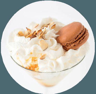 Le Macaron - Glace caramel