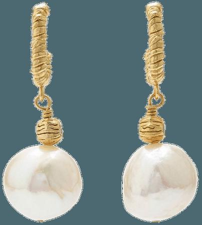 Anni Lu Fruit D'or Hoop Earrings - Farfetch