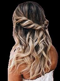 half up half down hair style - Google Search