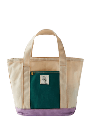 BDG Colorblock Mini Canvas Tote Bag | Urban Outfitters
