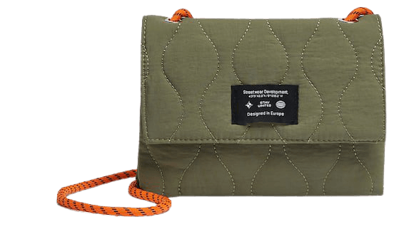 Mini quilted crossbody bag - pull&bear
