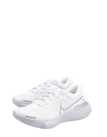 Nike Running ZoomX Invincible flyknit sneakers in white   ASOS
