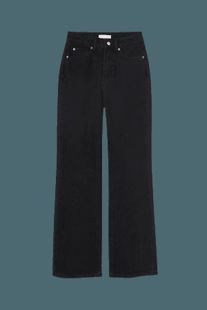 Bootcut High Jeans - Black