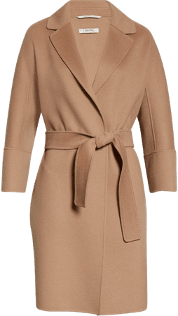 Arona Wool Wrap Coat