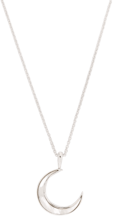Dinny Hall moon charm pendant necklace - FARFETCH