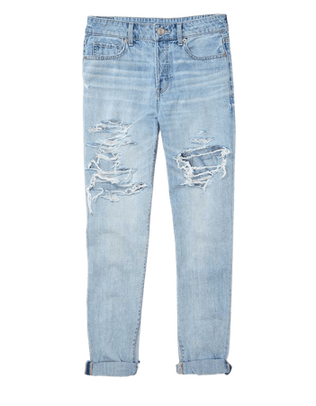 AE Ripped Tomgirl Jean