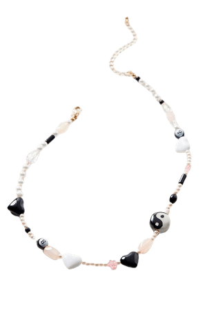Daria Beaded Charm Necklace | Urban Outfitters