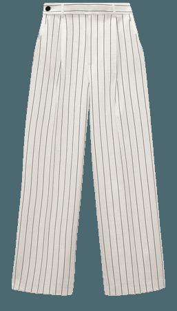 STRIPED PANTS | ZARA United States