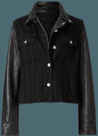 ALLSAINTS US: Womens Zayn Biker Jacket (black)