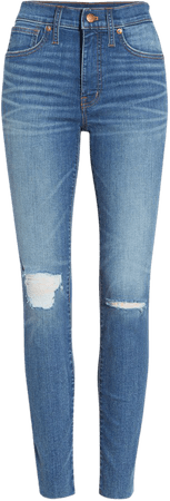 9-Inch Mid-Rise Skinny Jeans