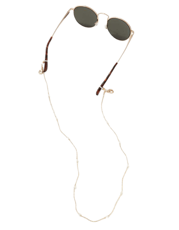 AEO Gold Pearl Sunglass Chain