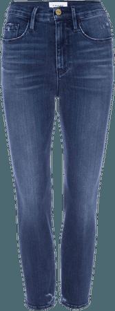 Le Pixie Silvie High Waist Stretch Crop Jeans