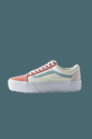 Vans Old Skool Twill Platform Sneaker | Urban Outfitters