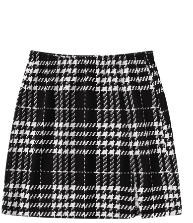 Plaid A-Line Mini Skirt | SHEIN USA