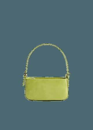 Animal-print baguette bag - Women | Mango USA