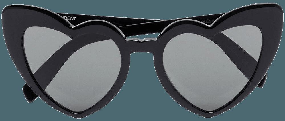 Saint Laurent Eyewear Loulou heart sunglasses