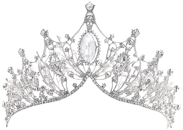 Amazon.com : Cagora Baroque Queen Crowns Crystal Wedding Crowns and Tiaras for Brides and Bridesmaids Rhinestones Prom Festival Costume Crown Pricess Tiara Bridal Hair Accessories for Women and Girls (Classic Silver) : Beauty