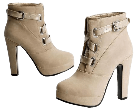 4 Colors Elegant Thick Platform High Heels Short Boots SP153890 - SpreePicky