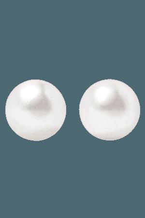 Meadowlark | Silver pearl earrings | NET-A-PORTER.COM