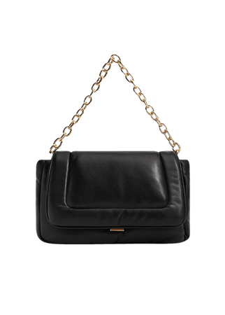 Quilted chain bag - Women   Mango USA