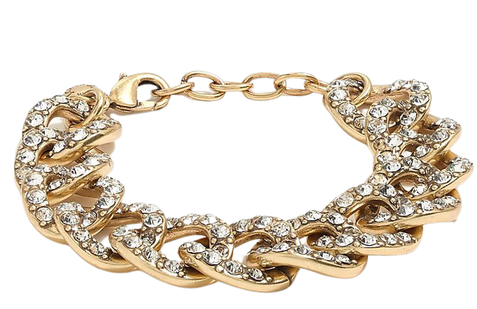 J.Crew Factory: Pavé Crystal Link Bracelet For Women