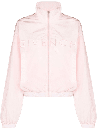 Givenchy logo-embroidered Track Jacket - Farfetch