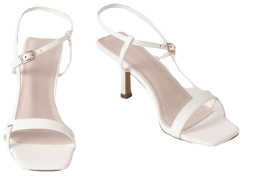 Strappy Buckled Heels White   na-kd.com