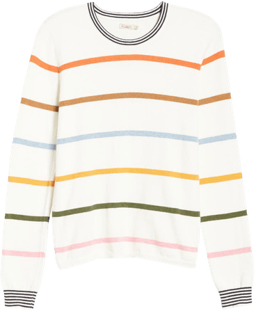 Faherty Surf Stripe Sweater | Nordstrom