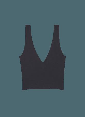Babaton CONTOUR V-NECK TANK | Aritzia INTL