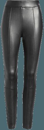 Topshop Sara Faux Leather Skinny Pants (Regular & Petite)   Nordstrom