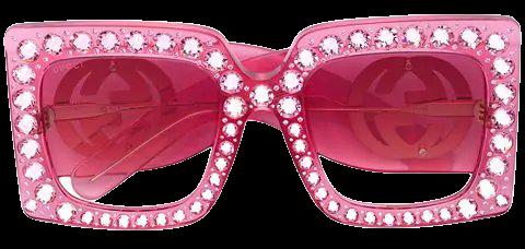 Gucci Eyewear Square Crystal Sunglasses - Farfetch