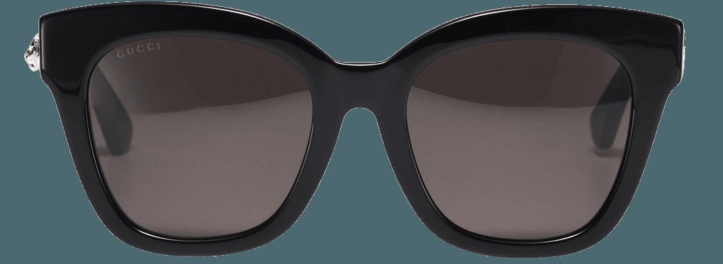 Black Square Sunglasses by Gucci