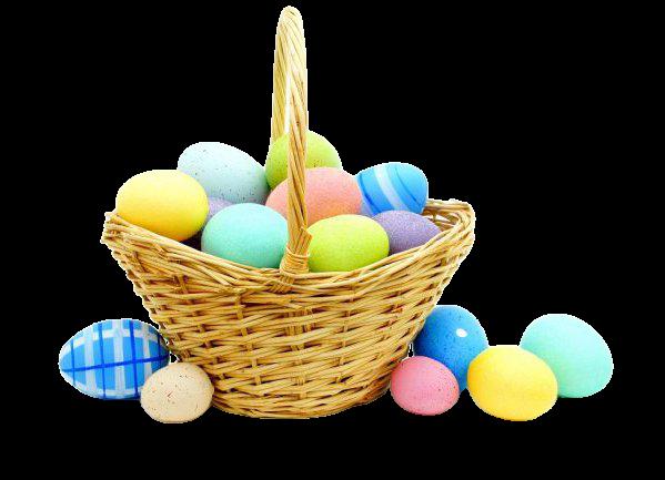 easter pink egg basket png - Google Search