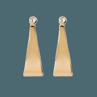 Large Flat Hoop Earrings - A New Day™ : Target