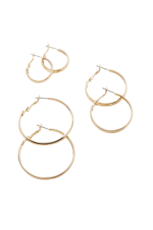 Thin Hoop Earring Set | Urban Outfitters