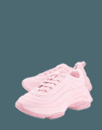Koi Footwear Lizzies sneakers in pink drench | ASOS