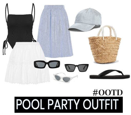 pool party look